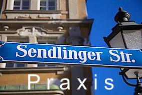 München - Straßenschild Sendlinger Str. (1)